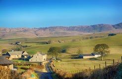 Englische ländliche Szene nahe Grayrigg, Cumbria Stockfoto