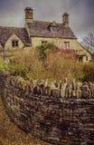 Englische ländliche Wände stockbilder