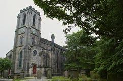 Englische Landkirche Stockbilder