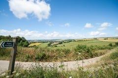 Englische Landschaft Stockbilder