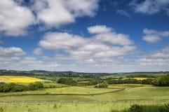 Englische Landschaft Lizenzfreies Stockfoto