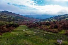 Englische Landschaft Lizenzfreie Stockfotos