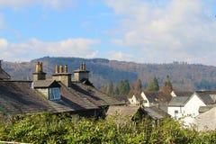 Englische Landschaft Stockfotos