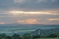 Englische Landschaft Stockfotografie