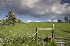 Englische Landschaft im chiltern Tal Stockfotografie