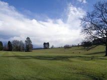 Englische Landschaft im Winter Lizenzfreie Stockfotos