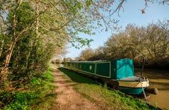 Englische Landschaften - großartiger Verbands-Kanal stockfotos