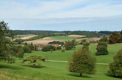 Englische landwirtschaftliche Landschaft Stockbilder