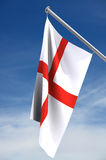 Englische Markierungsfahne   Lizenzfreies Stockfoto