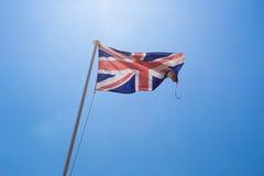 Englische Markierungsfahne Lizenzfreies Stockbild