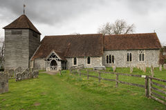 Englische mittelalterliche Kirche Lizenzfreie Stockfotografie
