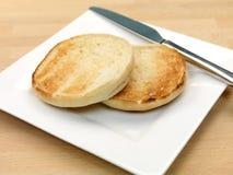 Englische Muffins lizenzfreies stockfoto