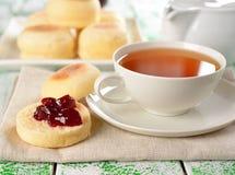 Englische Muffins Stockbild