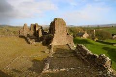 Englische Schlossruinen Stockfotos