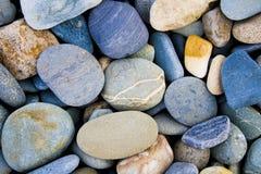 Englische Strand-Steine Stockbilder