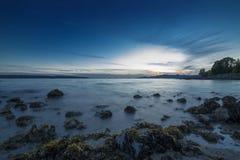 Englischer Bucht-Strand Lizenzfreies Stockfoto