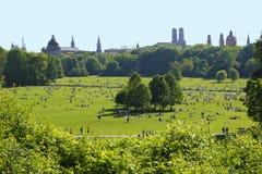 Englischer Garten - Μόναχο Στοκ Εικόνες