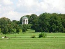 Englischer Garten en Munich Imagen de archivo libre de regalías