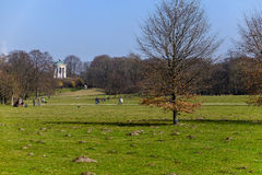 Englischer Garten in spring Royalty Free Stock Images
