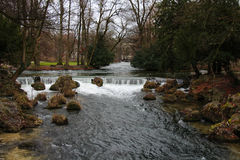 Englischer Gartenpark in München Lizenzfreie Stockfotos