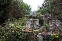 Englischer Landgarten Lizenzfreies Stockfoto