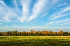 Englischer Landschaftshintergrund Lizenzfreie Stockbilder
