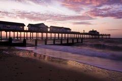 Englischer Pier Stockfotos