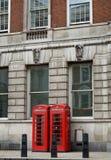 Englischer Telefonkasten Stockbilder