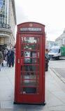 Englischer Telefonkasten Lizenzfreies Stockbild