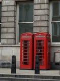 Englischer Telefonkasten Stockfotografie