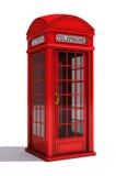 Englischer Telefonstand stock abbildung