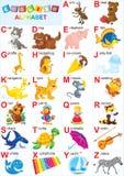 Englisches Alphabet Stockfoto