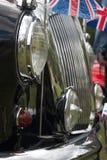 Englisches Auto Lizenzfreie Stockfotos