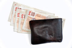 Englisches Bargeld lizenzfreies stockfoto