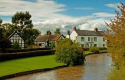 Englisches Dorf Lizenzfreie Stockbilder