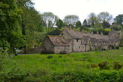 Englisches Dorf Stockfoto