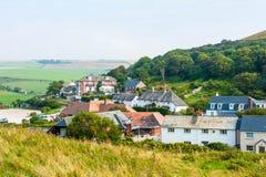 Englisches Dorf Lizenzfreies Stockfoto