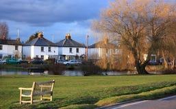 Englisches Dorf Stockfotos