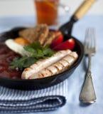 Englisches Frühstück Stockfotos