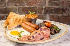Englisches Frühstück Lizenzfreie Stockfotografie