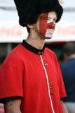 Englisches Fußballfan Stockfotos