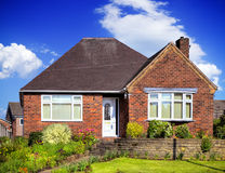 Englisches Gartenhaus stockbild