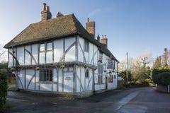 Englisches Gasthaus stockfotografie