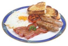 Englisches gebratenes Frühstück Lizenzfreie Stockfotos