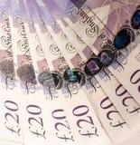 Englisches Geld Stockfotografie
