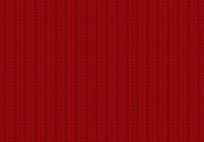 Englisches Gummiband gestricktes Muster lizenzfreie abbildung