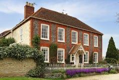 Englisches ländliches Herrenhaus Lizenzfreie Stockfotografie