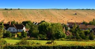 Englisches Land-Dorf Lizenzfreies Stockfoto