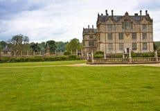 Englisches Landhaus in Somerset Stockfotos