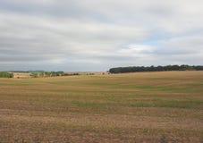 Englisches Landpanorama in Salisbury lizenzfreie stockbilder